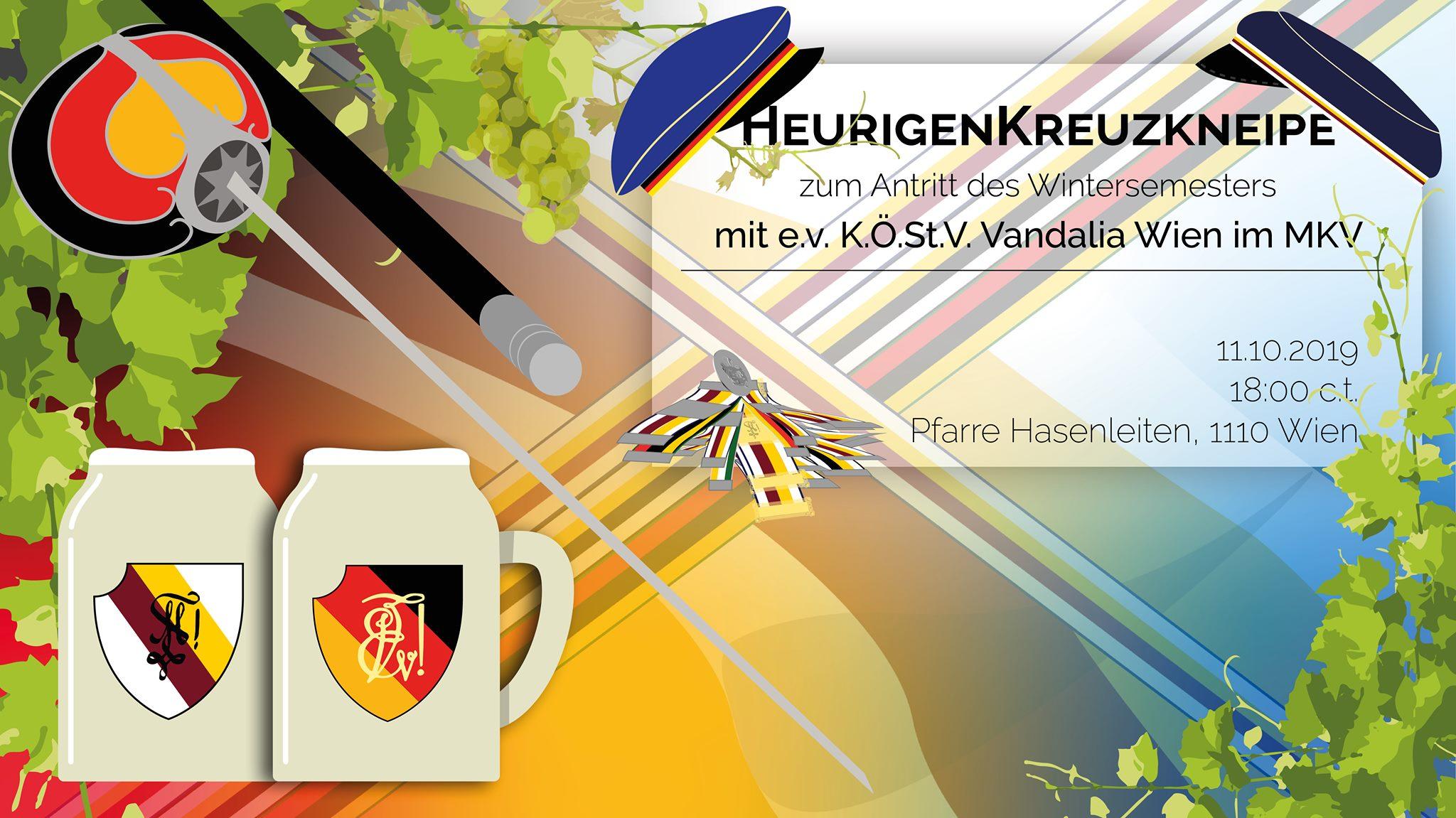 Semesterantritt: Heurigen-Kreuzkneipe mit VAW! @ Pfarre Hasenleiten | Wien | Wien | Austria